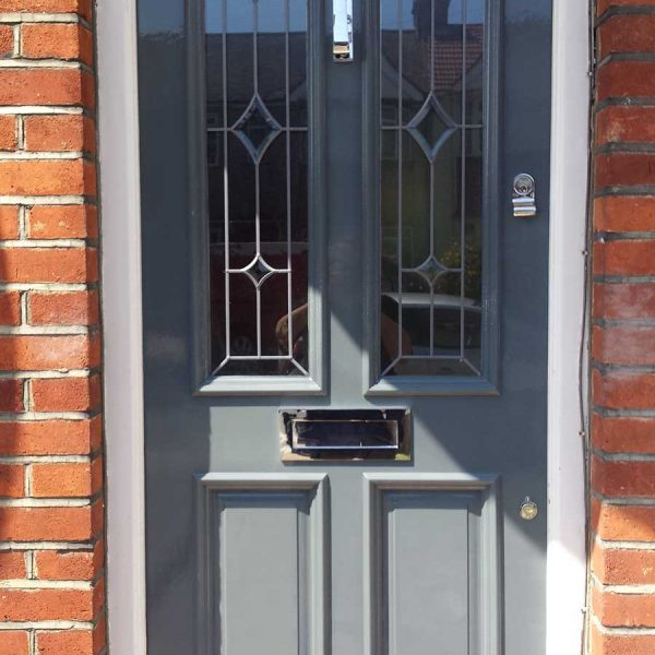 Front door replacement, Thame, Oxfordshire.